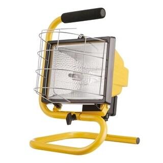 Globe Electric 6050401 Single Light 8 Inch Wide LED Work Light with Foam Handle