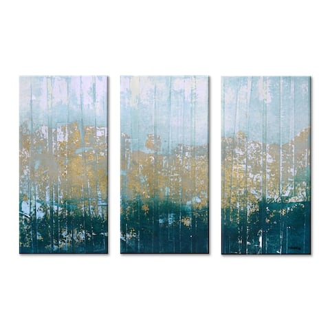 'Harbour Point' Wrapped Canvas Wall Art Set by Norman Wyatt Jr.