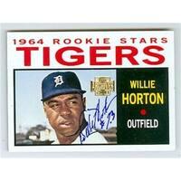 Detroit Tigers 2001 Topps Archives No. 45 Willie Horton ed Basebal