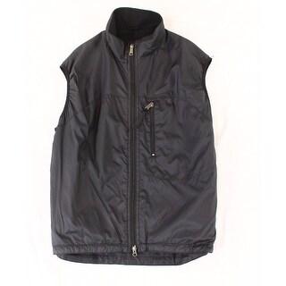 Jagged Edge Mountain Gear NEW Black Mens Size Large L Windbreaker Vest