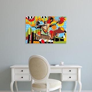 Easy Art Prints Lobo's 'Brazil' Premium Canvas Art