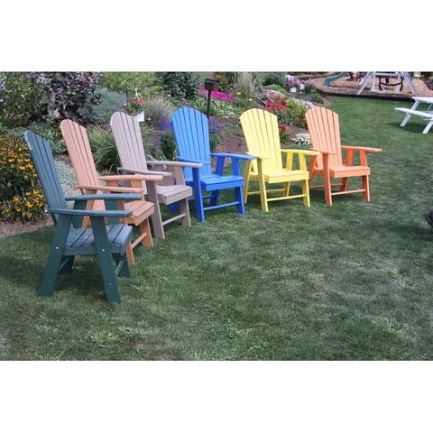 Poly Upright Adirondack Chair
