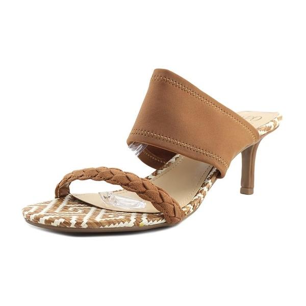Impo Nolen Women Open Toe Canvas Brown Sandals