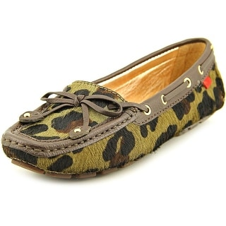 Marc Joseph Cypress Hill Exotic Square Toe Suede Loafer
