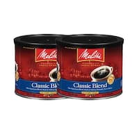 Melitta 60260 Classic Blend (2-Pack) 22 Ounce Classic Ground Coffee
