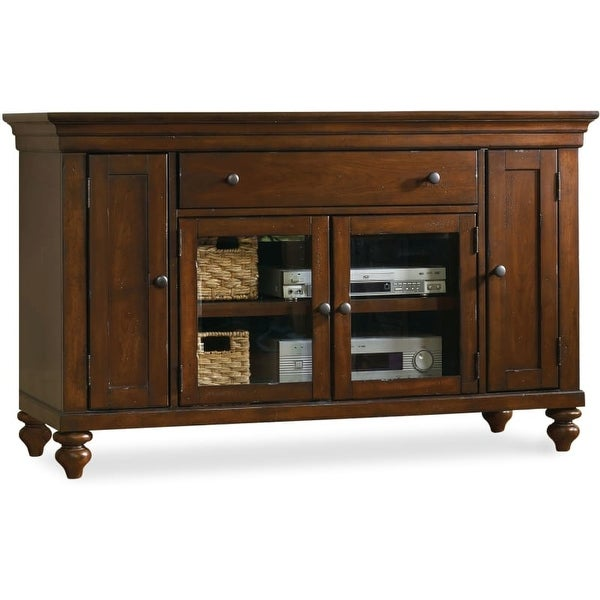 Charmant Hooker Furniture 1037 56401 56 Inch Wide Poplar Wood Media Cabinet From The  Wend