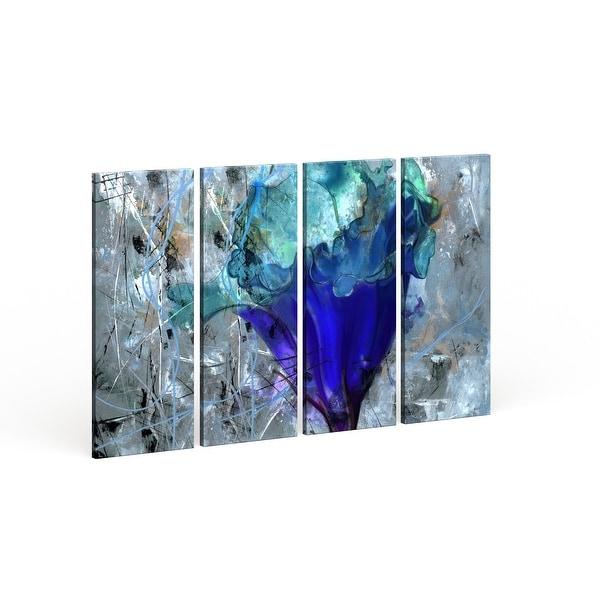 Copper Grove Blue Flower Canvas Wall Art. Opens flyout.