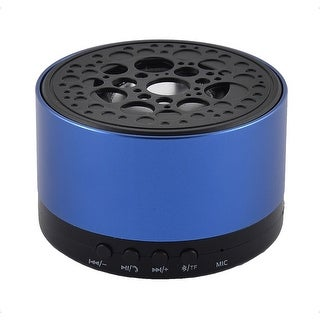 Portable Water Resistant Dustproof Wireless bluetooth Speaker Loudspeaker Blue