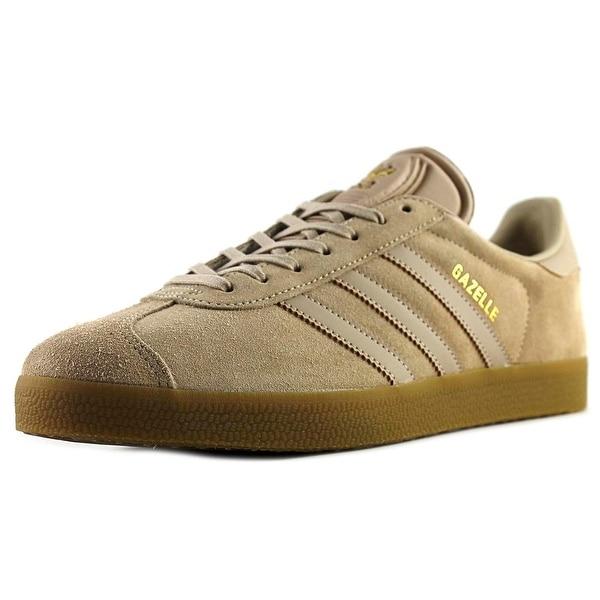 Adidas Gazelle Men Round Toe Suede Tan Running Shoe