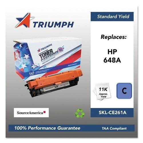 Triumph Remanufactured 648A Toner Cartridge - Cyan Toner Cartridge