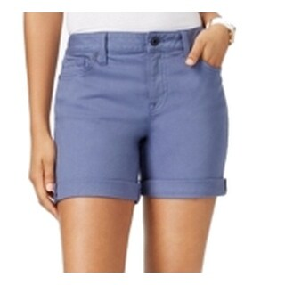 Tommy Hilfiger NEW Light Blue Women's Size 6 Cuffed Denim Shorts