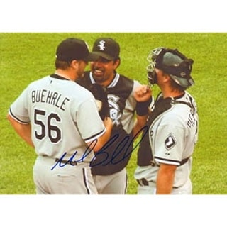Mark Buehrle Chicago White Sox Autographed 85x11 Photo This item comes with a certificate of authen