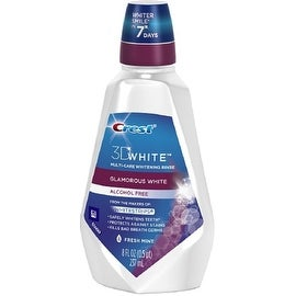 Crest 3D White Multi-Care Whitening Rinse Fresh Mint 237 mL