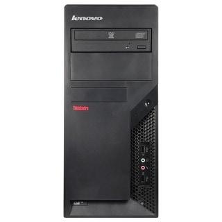 Lenovo ThinkCentre M58P Computer Tower Intel Core 2 Duo E8400 3.0G 4GB DDR3 2TB Windows 7 Pro 1 Year Warranty (Refurbished)
