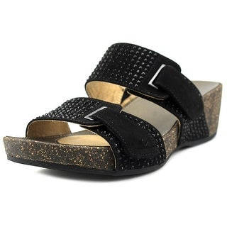 Naturalizer Carena Open Toe Synthetic Slides Sandal