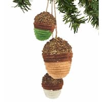 "Department 56 Gnome For The Holidays ""Acorn Charm"" Christmas Ornament #4048253"