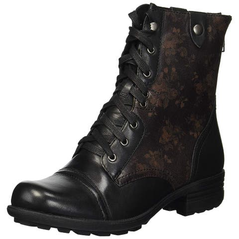 Rockport Womens bethany Closed Toe Ankle Motorcycle Boots