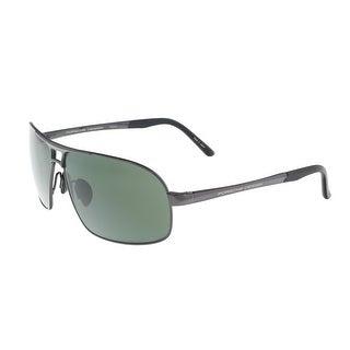 Porsche P8542-C Gunmetal Aviator Sunglasses - 65-11-135