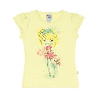 Girls Shirt Kids Top Graphic Tee Pulla Bulla Sizes 2-10 Years
