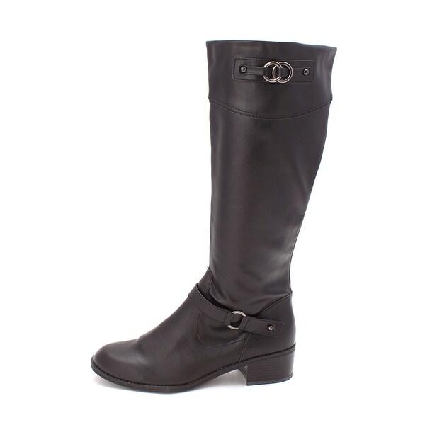 Karen Scott Womens Belano Almond Toe Knee High Fashion Boots - 9.5