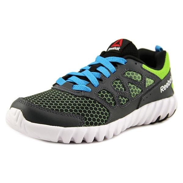 4227acd05bf822 Reebok Twistform Blaze 2.0 Youth Round Toe Synthetic Multi Color Running  Shoe
