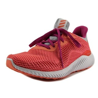 Adidas Alpha Bounce Youth  Round Toe Synthetic Pink Running Shoe
