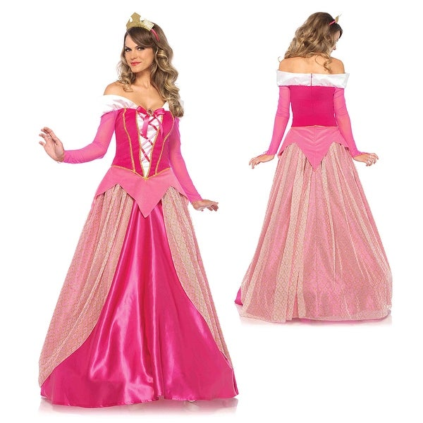 Shop Womens Princess Aurora Ball Gown Disney Costume - Free Shipping ...