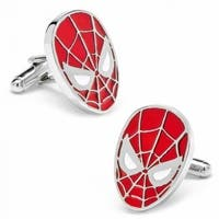Spider-Man Mask Marvel Superhero Cufflinks