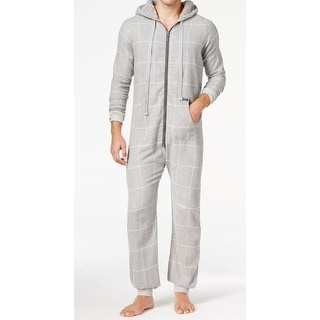 Kenneth Cole Reaction NEW Gray Mens Size Small S One-Piece Sleepwear