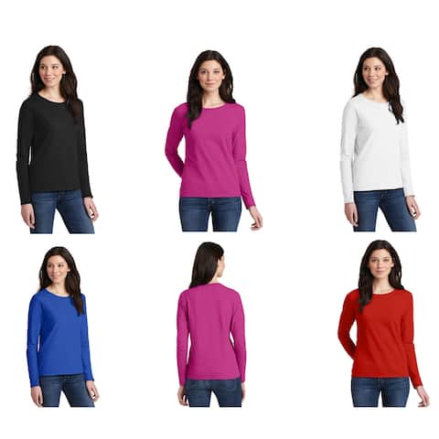 One Country United Women's Cotton Long Sleeve T Shirt