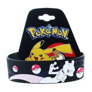 Pokemon Mewtwo Youth Silicone Wristband - multi