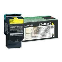 Lexmark CLC544HY Compatible Extra High Yield Toner Cartridge - Yellow