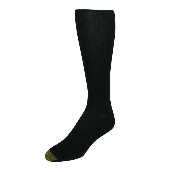 Gold Toe Men's Extended Size Over the Calf Canterbury Dress Socks (3 Pair Pack)