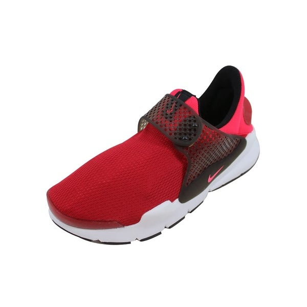 low priced 38c69 3a81a Shop Nike Grade-School Sock Dart Gym Red/Solar Red-Siren Red ...