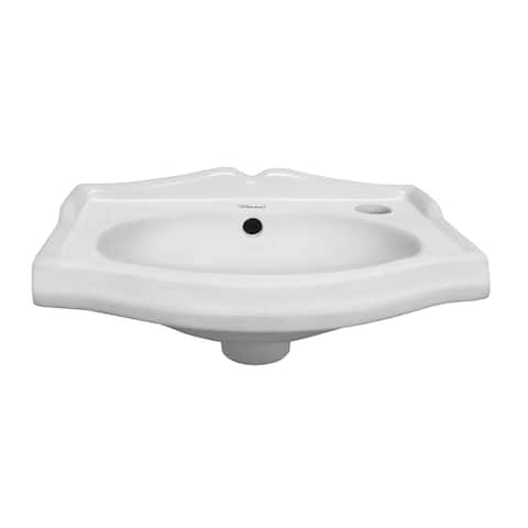Whitehaus Collection Isabella Small Wall Mount Basin