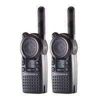 Motorola CLS1110 (2 Pack) Professional 2-Way Radio / 2 Mile Range