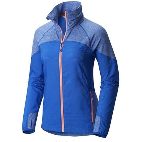 Mountain Hardwear Women's Mistrala Jacket Bright Island Blue (OL7215-409)