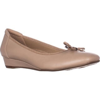 naturalizer Dove Wedge Ballet Flats, Taupe Snake