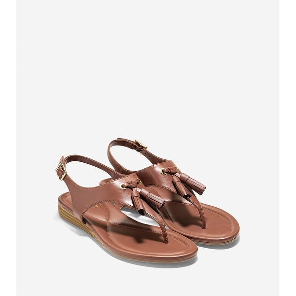 Cole Haan Womens Rona Split Toe Casual Slingback Sandals