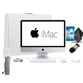 Apple iMac n 21.5 Inch Desktop Computer,2.3GHz Core i5, 1TB HD Bundle Advanced Bundle