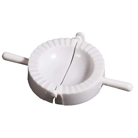 Dumpling Maker Pierogi Calzone Maker Pastry Utility Pocket Meals - White - 1pcs