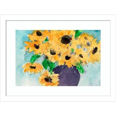 Sunflower Moment II by Samuel Dixon Framed Wall Art Print
