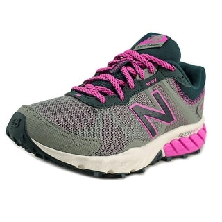 New Balance WT610 Women D Round Toe Synthetic Gray Running Shoe