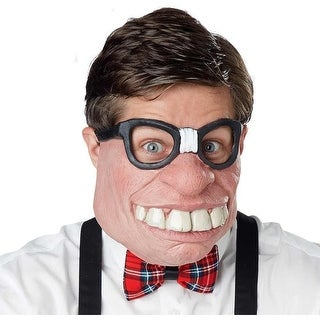 Geeked Out Adult Costume Mask