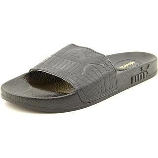 Puma Top Slide X Vashtie Open Toe Leather Flip Flop Sandal