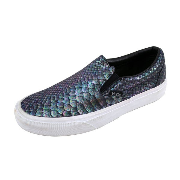 Vans Men's Classic Slip-On Multi Color/White VN0A38F7OF8