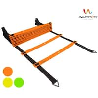 Wacces Speed  Adjustable Agility Ladder with Carrying Bag - 20 Rungs