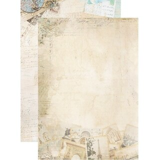 Memories Of Summer Double-Sided Cardstock A4-