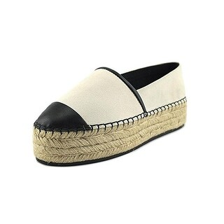 Karl Lagerfeld Paris Womens Albi 2 Casual Shoes Espadrille Flatforms