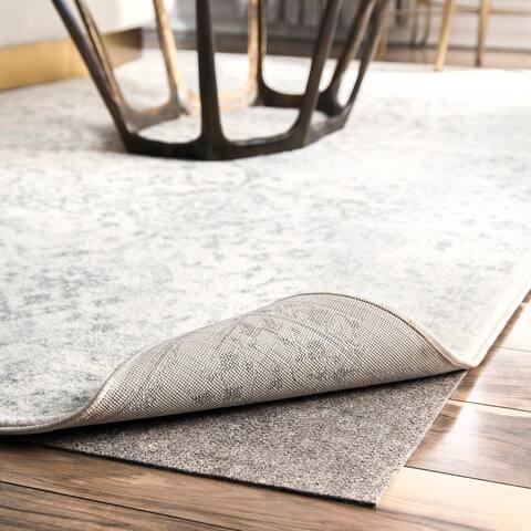 nuLOOM Ultra Premium Eco Friendly Non-Slip Felt Thick Rug Pad - Grey